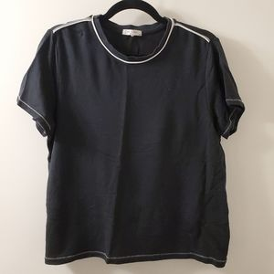 Rag & Bone Black T-Shirt - Size M